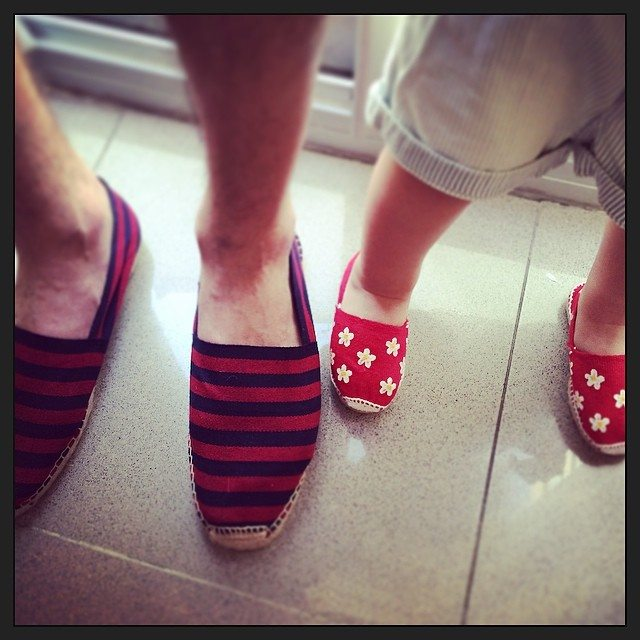 papy and kids espadrillas