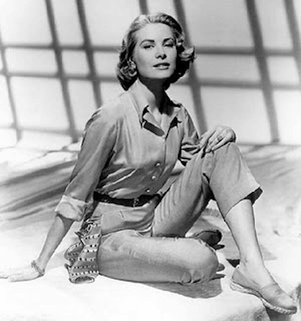 Grace kelly con espadrillas
