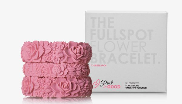 Fullspot flower bracelet PINK IS GOOD